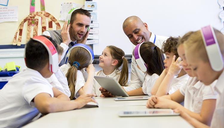 teaching assistants teach in