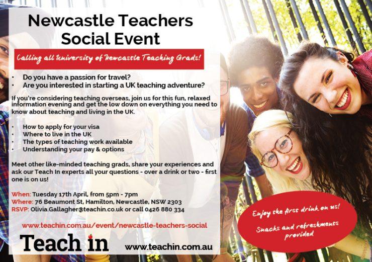 Newcastle social event