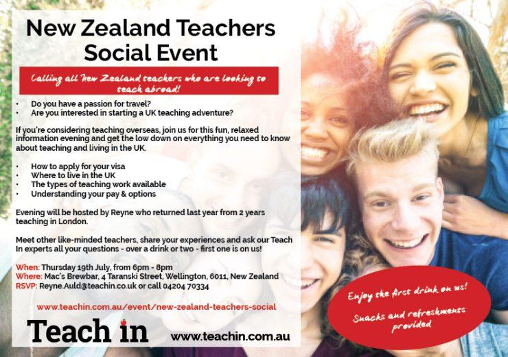 New Zealand teachers social